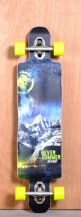 "Never Summer 42"" Deviant Longboard Complete"