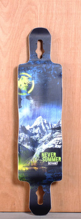 "Never Summer 42"" Deviant Longboard Deck"