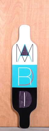 "Madrid 39"" Cutout Longboard Deck"