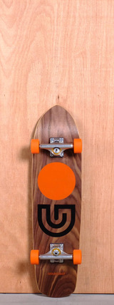 "GoldCoast 31"" Slap Stick Longboard Complete - Walnut"