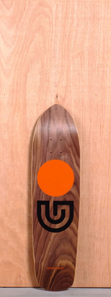 "GoldCoast 31"" Slap Stick Longboard Deck - Walnut"