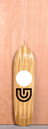 "GoldCoast 31"" Slap Stick Longboard Deck - Zebra"