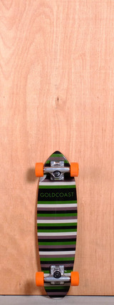 "GoldCoast 24"" Conflict Longboard Complete - Camo"