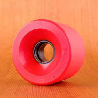 GoldCoast Shred Boot 70mm 85a Wheels - Red