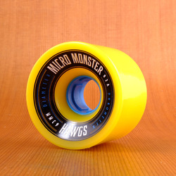 Hawgs Micro Monster 63mm 82a Wheels - Yellow