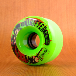 Gravity Drifter 70mm 84a Wheels - Green