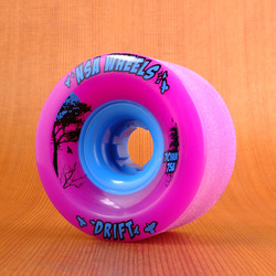 Never Summer Drift 70mm 75a Wheels - Purple
