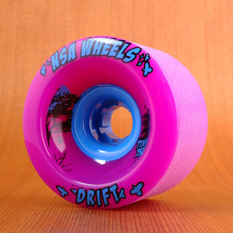 Never Summer Drift 77mm 75a Wheels - Purple