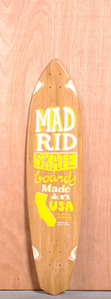 "Madrid 38.75"" Surftype Longboard Deck - Bamboo"