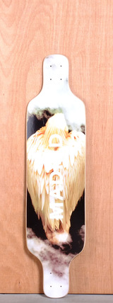 "Madrid 39"" Bird Longboard Deck - Top Mount"
