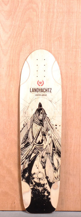 "Landyachtz 37"" Canyon Arrow Longboard Deck"