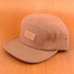 Globe Palermo 5 Panel Hat - Clay