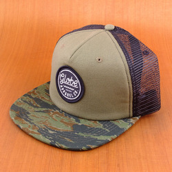 Globe Explorer Trucker Hat - Tiger Camo