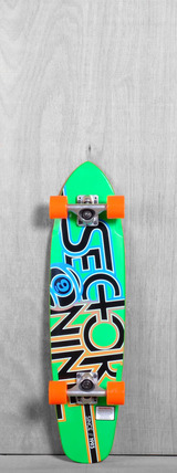"Sector 9 31"" The Wedge Longboard Complete - Green"