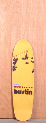 "Bustin 33"" Modela Longboard Deck - Brooklyn Tower"