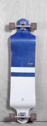 "Globe 41"" Geminon Longboard Complete - Blue Diamond/White"