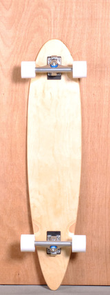 "Blank 42"" Pintail Longboard Complete"