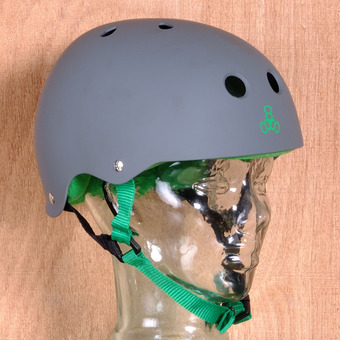 Triple 8 Brainsaver Helmet - Carbon Rubber
