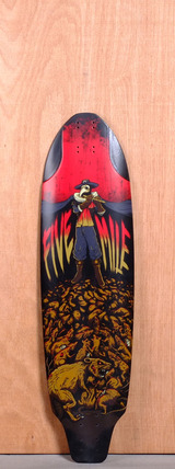 "Five Mile 36"" Pied Piper Longboard Deck"