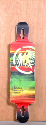 "Never Summer 40"" Hooligan Longboard Deck"