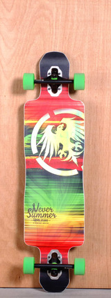 "Never Summer 40"" Hooligan Longboard Complete"