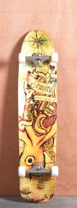 "Gravity 40"" Brad Edwards Pro Longboard Complete - Sea Monster"