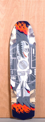 "Madrid 38.25"" Havoc Longboard Deck - WMD"