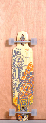 "Bustin 36"" Mission Longboard Complete"