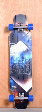"Never Summer 41.5"" Commander Longboard Complete"