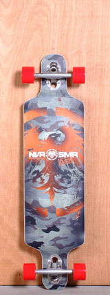 "Never Summer 39"" Clutch Longboard Complete"