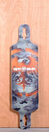 "Never Summer 39"" Clutch Longboard Deck"
