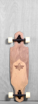 "Dusters 34"" Channel Longboards Complete - Split Maple"