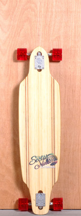 "Sector 9 37.5"" Sentinel Longboard Complete - Bamboo"