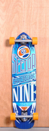 "Sector 9 36"" Carbon Flight Longboard Complete - Blue"