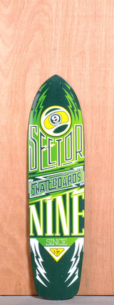 "Sector 9 36"" Carbon Flight Longboard Deck - Yellow"