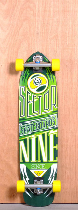 "Sector 9 36"" Carbon Flight Longboard Complete - Yellow"