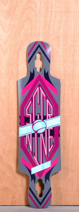 "Sector 9 38.5"" Sprocket Longboard Deck - Purple"