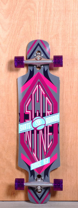 "Sector 9 38.5"" Sprocket Longboard Complete - Purple"