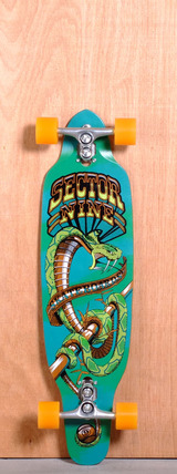 "Sector 9 36.5"" Striker Longboard Complete - Green"