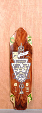 "Arbor 36"" Highground Longboard Deck"