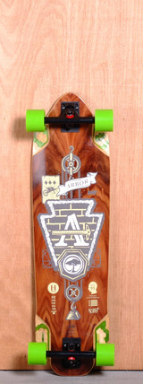 "Arbor 36"" Highground Longboard Complete"