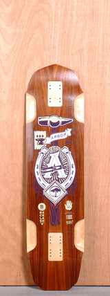 "Arbor 37"" Backlash Longboard Deck"