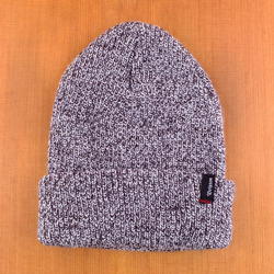 Brixton Heist Beanie - Black/Heather Grey
