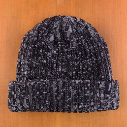 Brixton Mitch Beanie - Heather Grey/Black