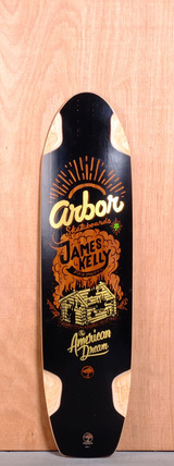 "Arbor 38.5"" James Kelly Pro Model Longboard Deck"