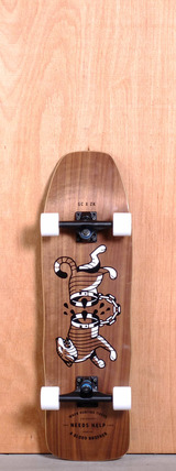 "GoldCoast 32.375"" Carnales Longboard Complete"