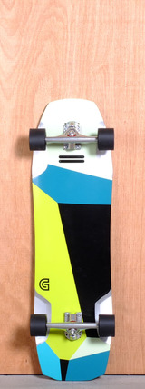 "GoldCoast 35.5"" Pyrite Longboard Complete"
