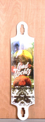 "Landyachtz 40.2"" 9 Two 5 Longboard Deck"