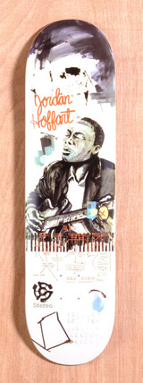 "Stereo Hoffart Blues 8.25"" Skateboard Deck"