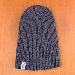 Poler Tube City Beanie - Charcoal Heather